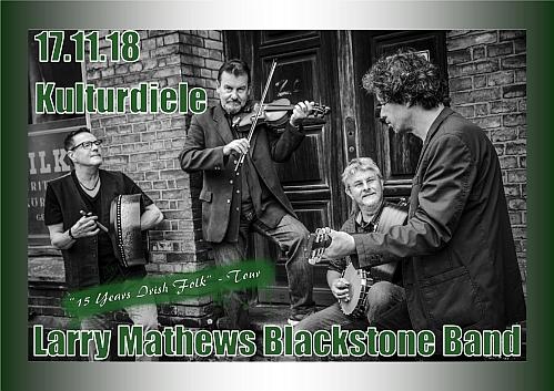 Larry Mathews Blackstone Band - Kulturdiele - Culturkreis HEeoor e.V.