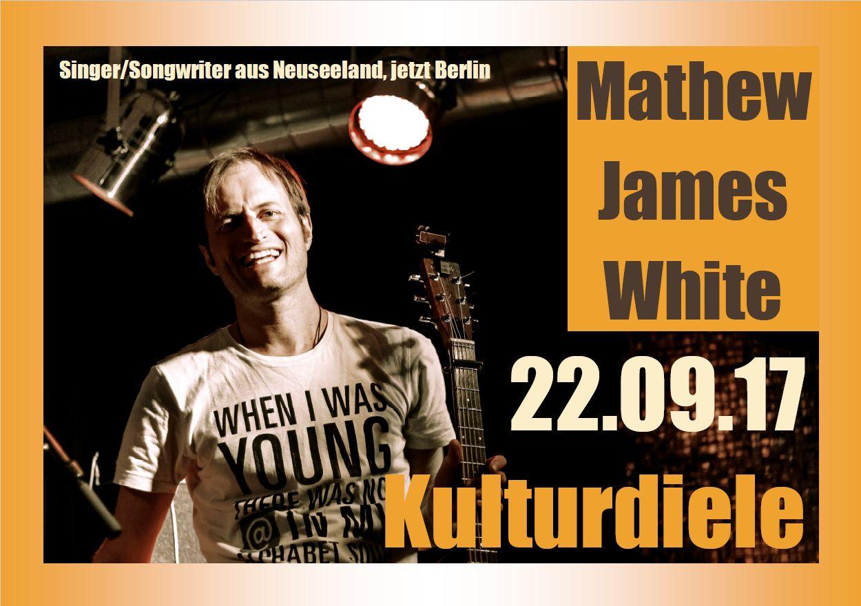 Singer/Songwriter - Mathew James White