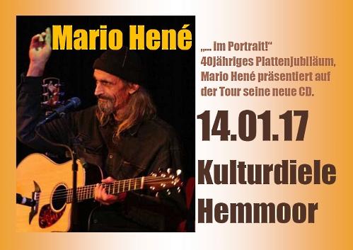 Mario Hené - 40jähriges Plattenjubiläum