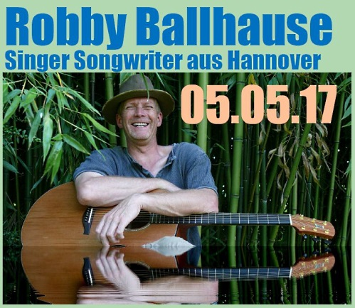 Singer/Songwriter - Robby Ballhause - Greengrass-Musik
