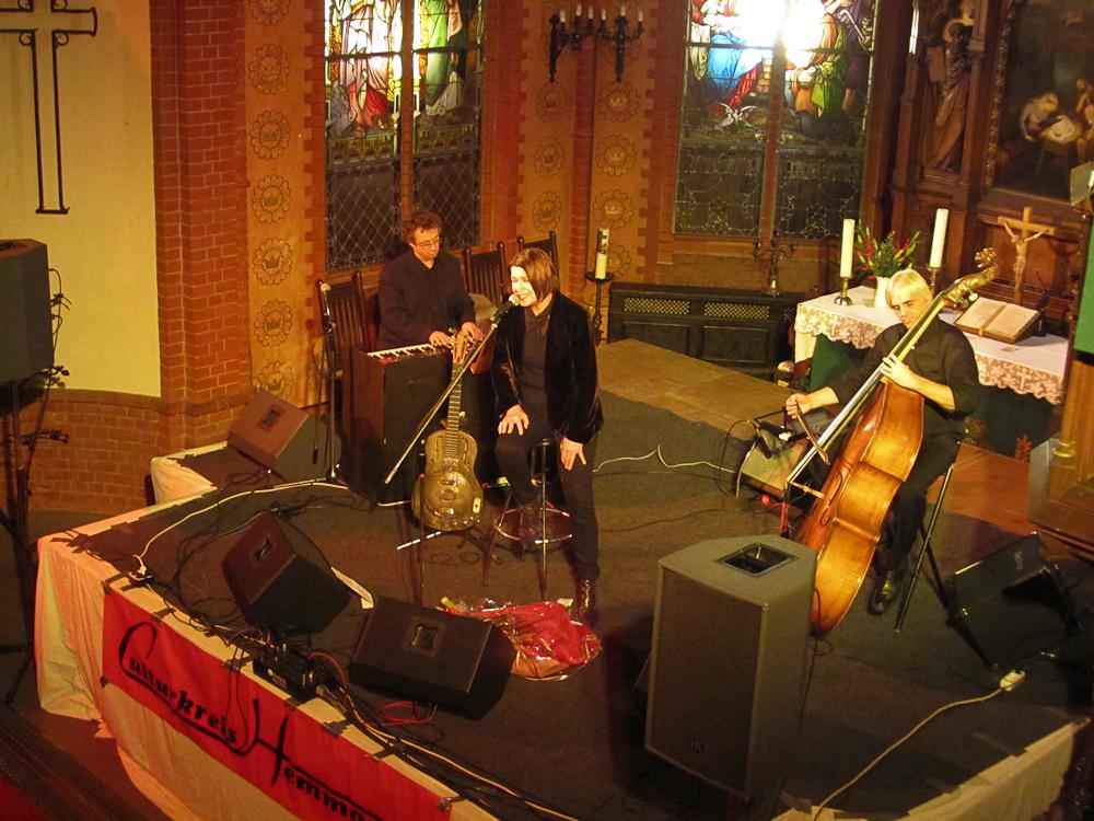 Inga Rumpf Trio @ Christuskirche Hemmoor - Culturkreis Hemmoor e. V.