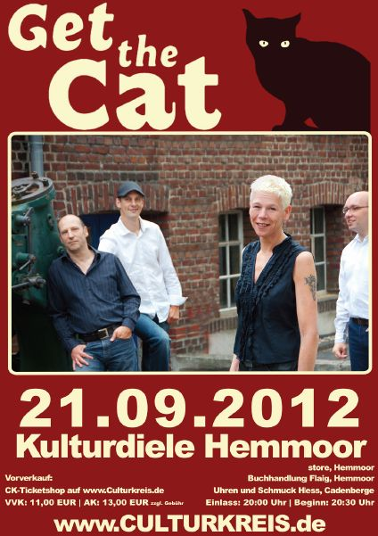 öfter Blues Get The Cat @ Kulturdiele Hemmoor