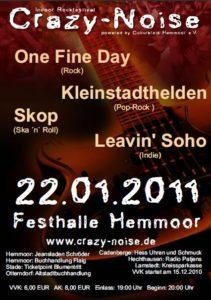 Crazy Noise Flyer 2011