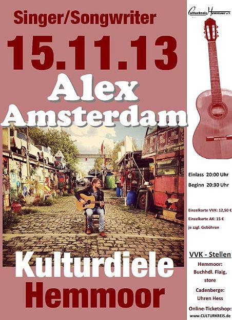 Alex Amsterdam - Kulturdiele - Hemmoor