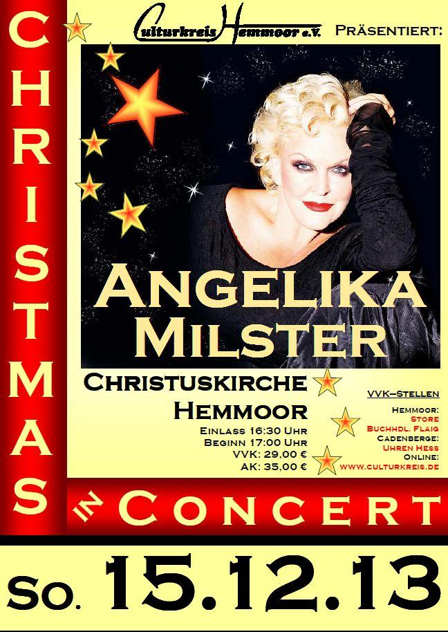 Angelika Milster - Weihnachten - Hemmoor