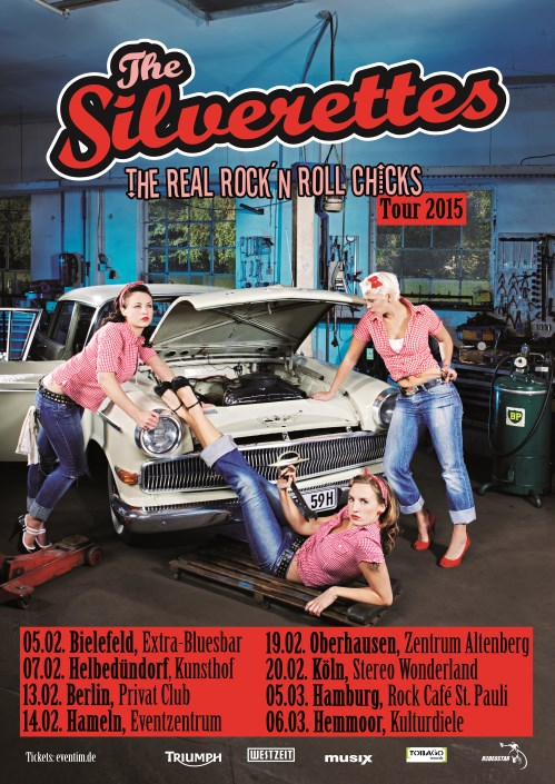 The Silverettes Tour 2015 - Hemmoor