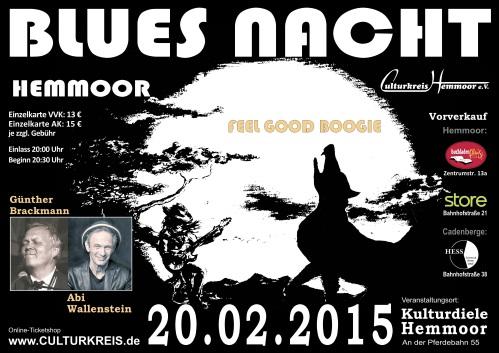 2015 - Abi Wallenstein - Bluesnacht - Kulturdiele Hemmoor