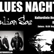 Bluesnacht Julian Sas - Kulturdiele