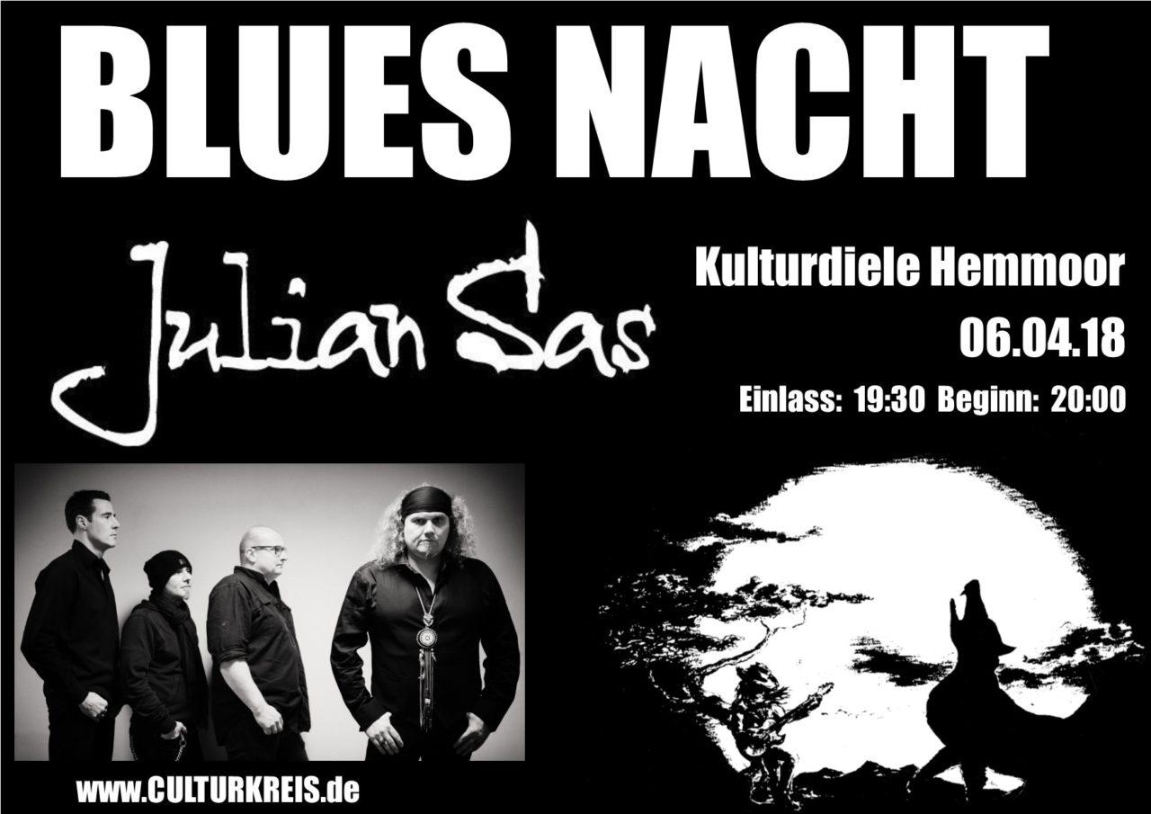 06.04.2018 – Blues-Nacht mit Julian Sas