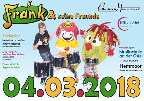 04.03.2018 – Frank und seine Freunde