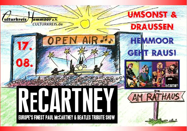 17.08.2019 – OpenAir am Rathaus – ReCartney