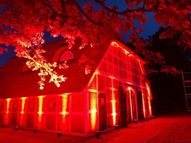 2020 - Night of Light - Kulturdiele Hemmoor